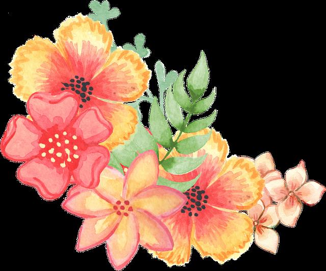 motiv květiny