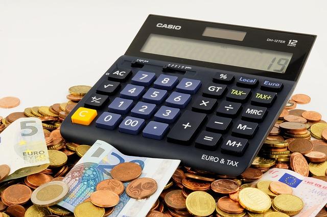 kalkulačka na penězích