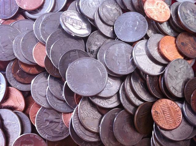 směs mincí